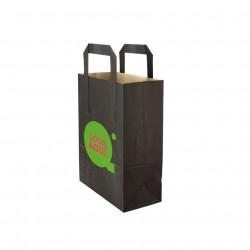 Bolsa papel mediana frutas y verduras