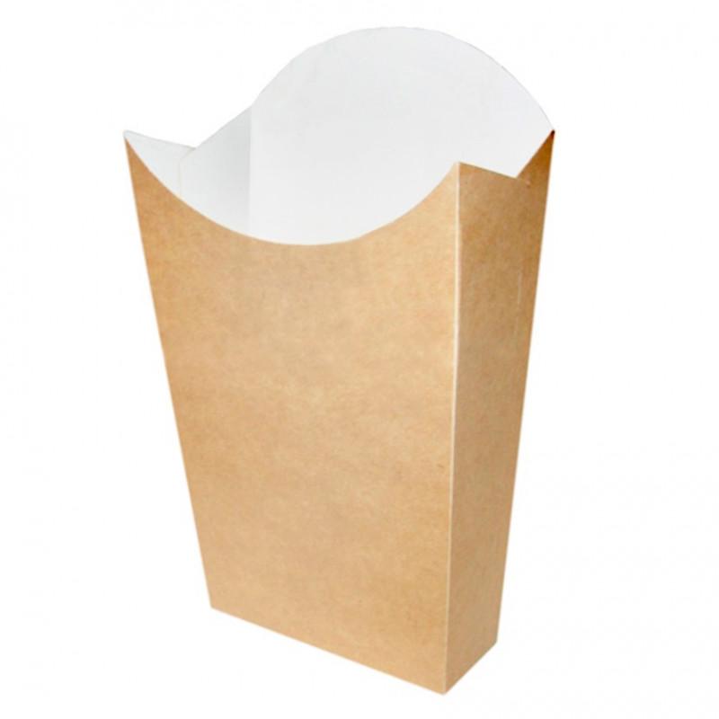 Vaso de Cartón Negro Ondulado Doble Capa 237ml (25uds)