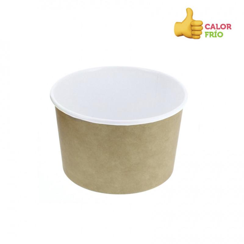 Caja de Madera Rectangular 110x80x55 mm 240ml (100und)