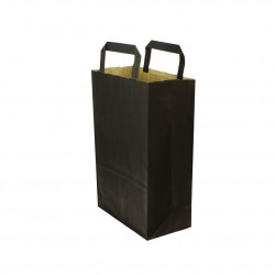 Envase negro sushi + Tapa 185x125x45mm