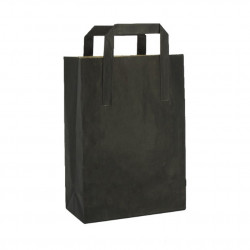 Envase negro sushi + tapa 240x145x45mm