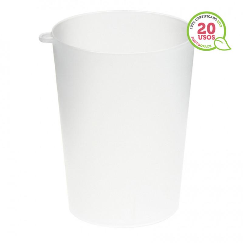Vaso de Cartón Vintage para Café 237 ml