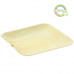 Mini plato de Bambu para aperitivo con pincho