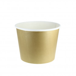Cubo de Cartón para Pollo decoración Kraft 2500cc