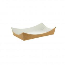 Barquilla de Bambú 70x40x11cm 17ml (200 und)