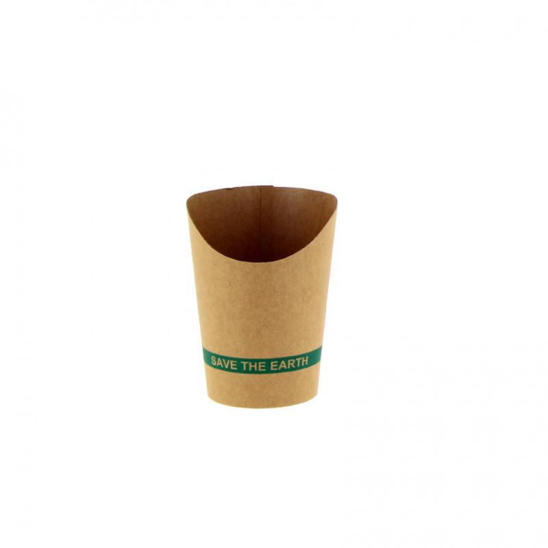 Barquilla de Bambú 220x135x60mm 50ml (100 und)