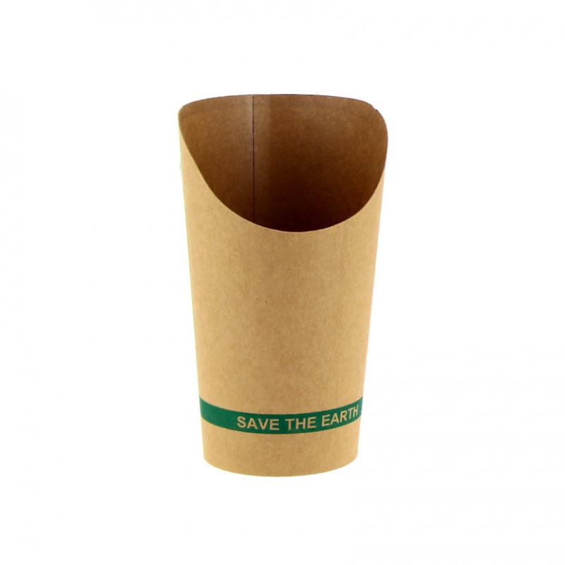 Cono de Bambú 130x50mm Ø50mm (100 und)