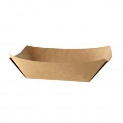Caja Wrap con Ventana Kraft 150x95x53mm (50 und)