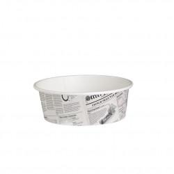 Envase Rectangular PP con tapa 2.000 cc (50uds)