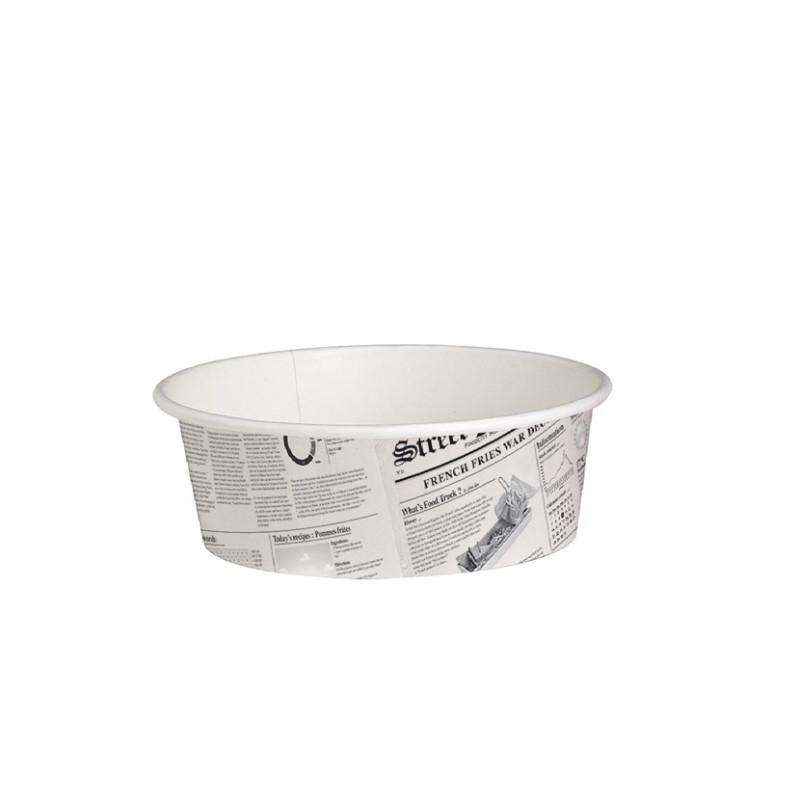 Envase Ovalado PP con tapa 2.000 cc