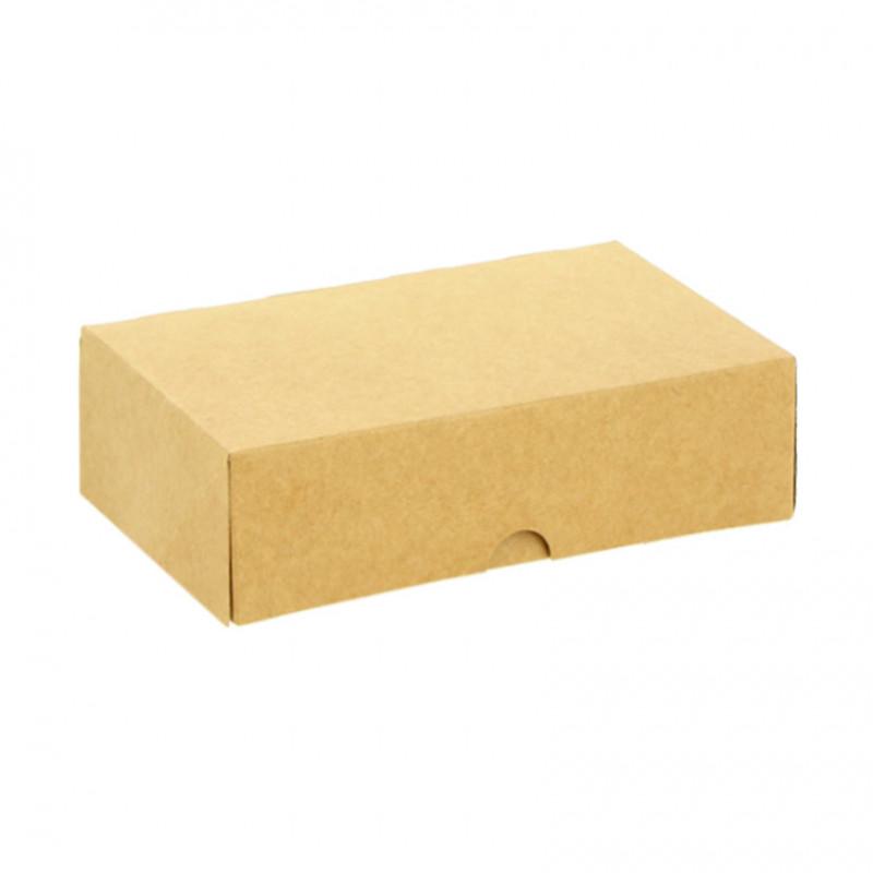 Caja Kraft Porción Tarta170x170x130 mm (50 und)