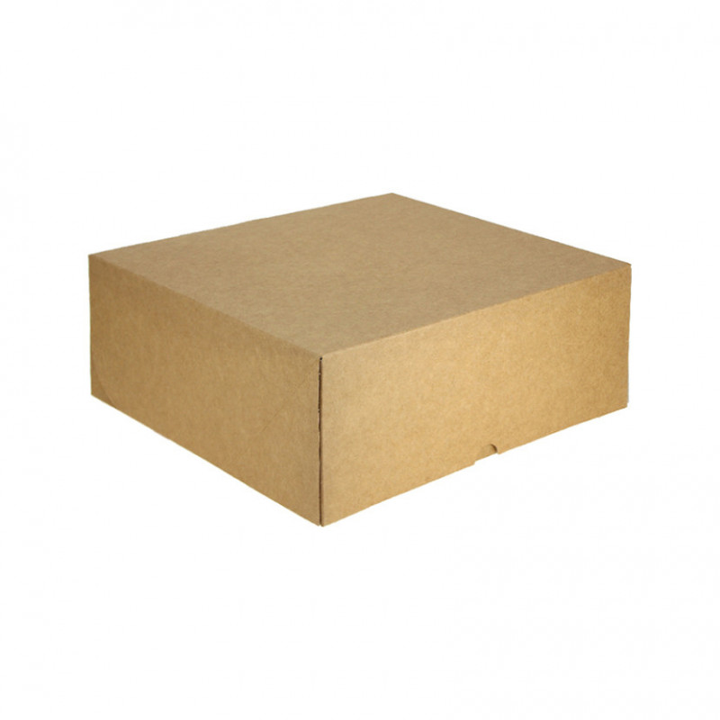 Envase Cartón Kraft Porción Tarta Pequeño (500 und)