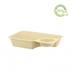 Caja Cilindrica Madera para 7 Macarones (1 und)
