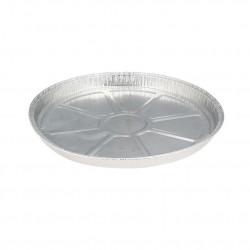 Plato de plastico cuadrado Pizarra 24x24cm (80 und)