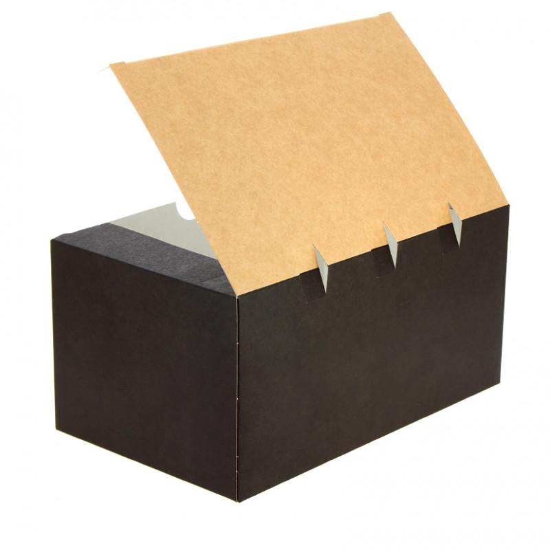 Mini Envase de Cartón para Burritos o Wrap 42x79mm (50 und)